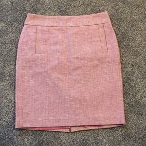 Banana Republic pink skirt 💕